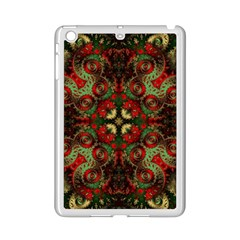 Fractal Kaleidoscope Ipad Mini 2 Enamel Coated Cases by BangZart