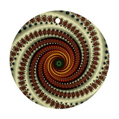 Fractal Pattern Ornament (round)