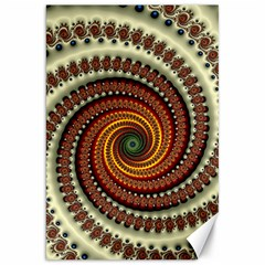 Fractal Pattern Canvas 20  X 30   by BangZart