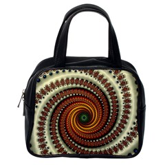 Fractal Pattern Classic Handbags (one Side)