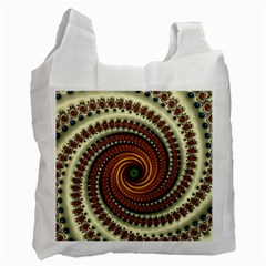 Fractal Pattern Recycle Bag (two Side)