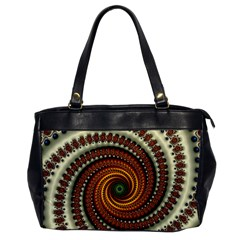 Fractal Pattern Office Handbags by BangZart