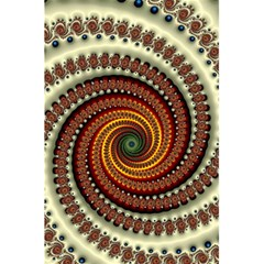 Fractal Pattern 5 5  X 8 5  Notebooks by BangZart