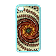 Fractal Pattern Apple Iphone 4 Case (color)