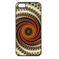 Fractal Pattern Apple Iphone 5 Seamless Case (black) by BangZart