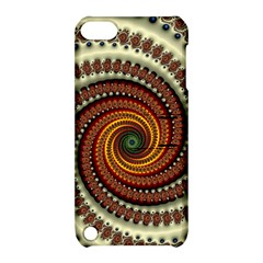 Fractal Pattern Apple Ipod Touch 5 Hardshell Case With Stand