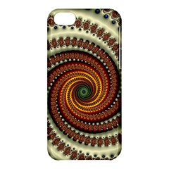 Fractal Pattern Apple Iphone 5c Hardshell Case by BangZart