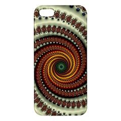 Fractal Pattern Iphone 5s/ Se Premium Hardshell Case