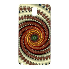Fractal Pattern Samsung Galaxy Note 3 N9005 Hardshell Back Case by BangZart