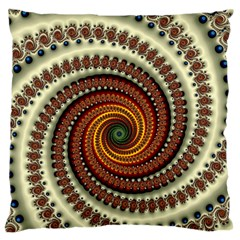 Fractal Pattern Standard Flano Cushion Case (two Sides)