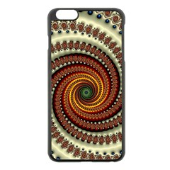 Fractal Pattern Apple Iphone 6 Plus/6s Plus Black Enamel Case by BangZart