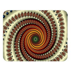 Fractal Pattern Double Sided Flano Blanket (large)