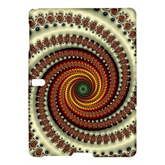 Fractal Pattern Samsung Galaxy Tab S (10 5 ) Hardshell Case  by BangZart
