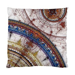 Fractal Circles Standard Cushion Case (one Side) by BangZart