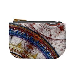 Fractal Circles Mini Coin Purses by BangZart
