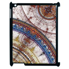 Fractal Circles Apple Ipad 2 Case (black) by BangZart