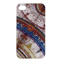 Fractal Circles Apple Iphone 4/4s Premium Hardshell Case by BangZart