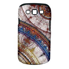 Fractal Circles Samsung Galaxy S Iii Classic Hardshell Case (pc+silicone) by BangZart