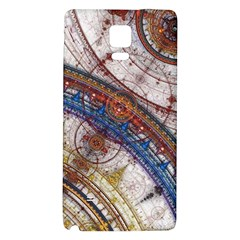 Fractal Circles Galaxy Note 4 Back Case