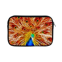 Fractal Peacock Art Apple Ipad Mini Zipper Cases by BangZart