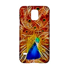 Fractal Peacock Art Samsung Galaxy S5 Hardshell Case  by BangZart