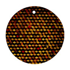 Fond 3d Round Ornament (two Sides)