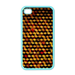 Fond 3d Apple Iphone 4 Case (color) by BangZart