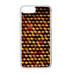 Fond 3d Apple Iphone 7 Plus White Seamless Case by BangZart