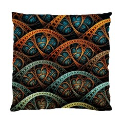 Fractal Art Pattern Flower Art Background Clored Standard Cushion Case (two Sides) by BangZart