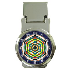Flower Of Life Universal Mandala Money Clip Watches by BangZart
