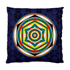 Flower Of Life Universal Mandala Standard Cushion Case (two Sides) by BangZart