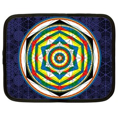 Flower Of Life Universal Mandala Netbook Case (xxl)