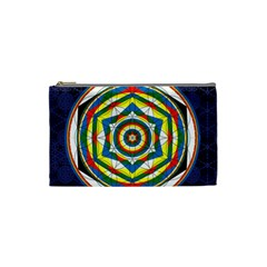 Flower Of Life Universal Mandala Cosmetic Bag (small)
