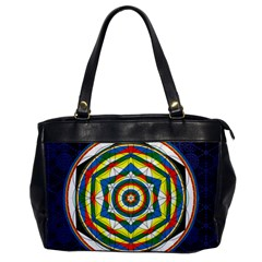 Flower Of Life Universal Mandala Office Handbags by BangZart