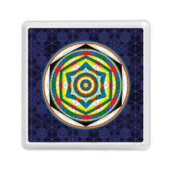 Flower Of Life Universal Mandala Memory Card Reader (square)