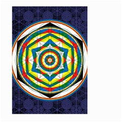 Flower Of Life Universal Mandala Large Garden Flag (two Sides) by BangZart