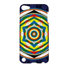 Flower Of Life Universal Mandala Apple Ipod Touch 5 Hardshell Case by BangZart