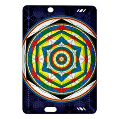 Flower Of Life Universal Mandala Amazon Kindle Fire Hd (2013) Hardshell Case by BangZart