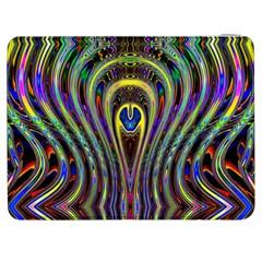 Curves Color Abstract Samsung Galaxy Tab 7  P1000 Flip Case