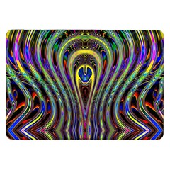 Curves Color Abstract Samsung Galaxy Tab 8 9  P7300 Flip Case