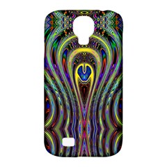 Curves Color Abstract Samsung Galaxy S4 Classic Hardshell Case (pc+silicone)