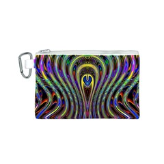 Curves Color Abstract Canvas Cosmetic Bag (s) by BangZart