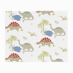 Dinosaur Art Pattern Small Glasses Cloth