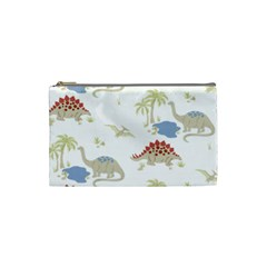 Dinosaur Art Pattern Cosmetic Bag (small)  by BangZart