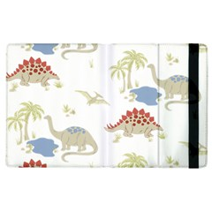 Dinosaur Art Pattern Apple Ipad 2 Flip Case by BangZart