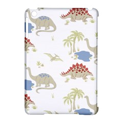 Dinosaur Art Pattern Apple Ipad Mini Hardshell Case (compatible With Smart Cover) by BangZart