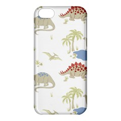 Dinosaur Art Pattern Apple Iphone 5c Hardshell Case