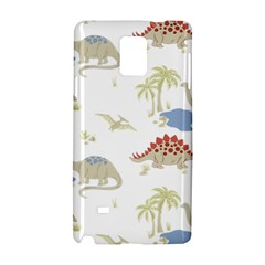 Dinosaur Art Pattern Samsung Galaxy Note 4 Hardshell Case