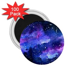 Galaxy 2 25  Magnets (100 Pack)  by Kathrinlegg
