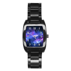 Galaxy Stainless Steel Barrel Watch by Kathrinlegg